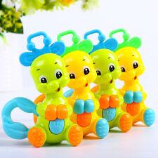 Kids Baby Cartoon Handbells Musical Developmental Toy Bed Bells Rattle Fun Toys