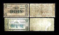 Brésil -  2x 1, 2 Mil Reis - Edition 01.06.1833 - Reproduction - 52