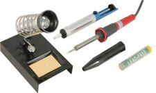 New 30w Soldering Iron Set Stand Sucker Solder Tube Hobby 230v UK Plug