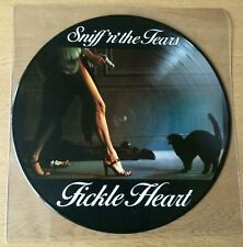 SNIFF 'N' THE TEARS  Fickle Heart Picture Disc LP German Import