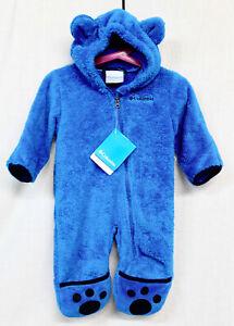 NWT $60 COLUMBIA WN0016 Foxy Baby BOY II Bunting Sz 3-6 Mos Blue zipper gift