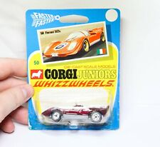 Corgi Juniors Whizzwheels No 50 Ferrari 512S - Mint Model On Card