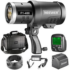 Neewer 400W 2.4G HSS Dual TTL Outdoor Flash Strobe Light for Canon Nikon