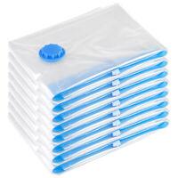 """10X Jumbo Vacuum Seal Storage Bags 32x40"""" Seak Bag Space Saving Quilts Organizer"""