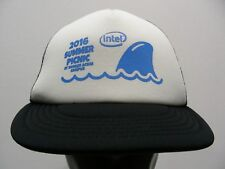 INTEL 2016 SUMMER PICNIC - TRUCKER STYLE ADJUSTABLE SNAPBACK BALL CAP HAT!