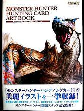 MONSTER HUNTER HUNTING CARD ART BOOK CAPCOM in Japanese
