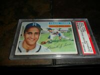 1956 Topps #172 Frank Torre PSA/DNA Certified Auto MILWAUKEE BRAVES D.2014