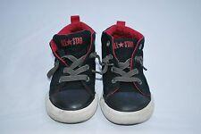 Converse All Start Chuck Taylor Black Mid Top Sneaker Boy's Sz 9