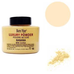 Ben Nye Luxury Banana Powder Loose Translucent Setting 42g - Free Shipping