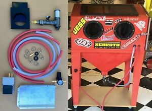 BLAST CABINET UPGRADE KIT Harbor Freight Metering Valve Baffle (NO DUST CYCLONE)