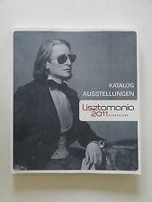 Lisztomania 2011 Burgenland Katalog Ausstellungen Franz Liszt