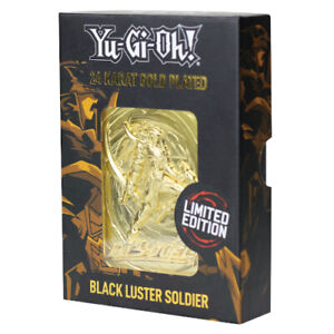 Yu-Gi-Oh! | Limited Edition | 24K Gold Plated Collectable | Black Luster Soldier