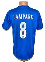 CHELSEA 2005/2006 CENTENARY HOME FOOTBALL SHIRT JERSEY UMBRO #8 LAMPARD SIZE M