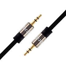 2M - 3.5mm Jack Plug To Plug Male Audio Cable - Lead For Headphone/Aux/MP3/iPod