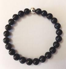 Men's Handmade Livio For Men Blue Tiger Eye Gemstone Bracelet