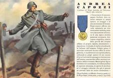 A2127) WW2 GRECIA, M.O. ANDREA CAPOZZI DA VALENZANO (BARI) 63 FANTERIA CAGLIARI.
