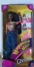 Vintage Happenin' Hair Christie AA Barbie Doll 1998 New #22883 Mattel