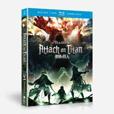 Attack on Titan Season 2: Episodes 1-12 (Blu-ray Disc/DVD, 2018, 4-Disc Set)