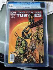 IDW TMNT Teenage Mutant Ninja Turtles #3A 1st Print CGC 9.6 by Eastman & Waltz