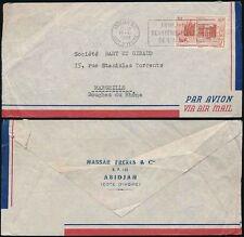 Ivory Coast George VI (1936-1952) Air Mail Stamps