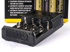 Nitecore Sysmax NEW i4 Inteligentes Ladegerät für Li-Ion, LiFePo4, Ni-MH, Akkus