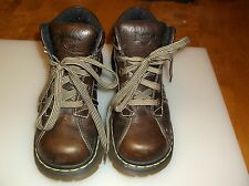 Dr. Martens Doc 2C01 Ladies Brown Leather Boot Size 7US 38EU 5UK