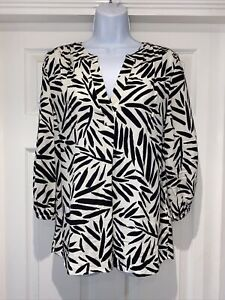 Ladies PURE Super Silky Blouse Top Size 10