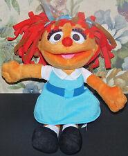 "Chamki Sesame Street Fisher Price Orange Girl Plush Doll 10"" Impossible To find!"