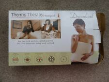 Dreamland Thermo Therapy Heat Pad  (never used) Beige towling washable cover