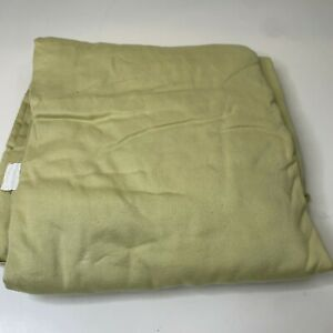 100% Egyptian cotton solid color green queen flat sheet machine washable