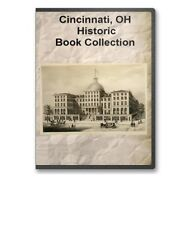 "Cincinnati, OH Ohio ""Queen CIty"" History Culture Genealogy 22 Book Set - D37"