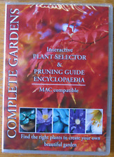 Complete Gardens Mac OS 8.6-10.5. plant selector pruning guide encyclopaedia NEW