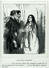 Gavarni: Masques et Visages. 19. Le Manteau d'Arlequin,3. Caricatura.Satira.1857