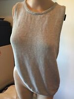 SZ 12 M MAURIE & EVE VEST KNIT TOP    *BUY FIVE OR MORE ITEMS GET FREE POST