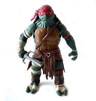 Raphael TMNT Ninja Turtles Action Figure w/ Sai 2014 Movie Playmates Raph
