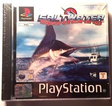 Saltwater Sportfishing Playstation 1 PS1 PSX PS2 PS3 PAL FACTORY SEALED