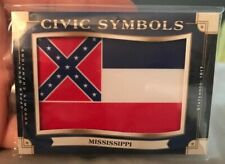 2019 Upper Deck Goodwin Champions Civic Symbols Mississippi State Rebel Flag