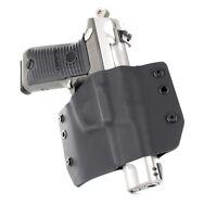 OWB Kydex Holster for Glock Handguns - Black