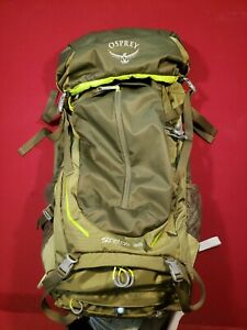 Osprey Stratos 36 Hiking Backpack M/L Gator Green Day Pack New Style Excellent