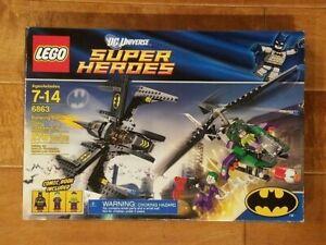 LEGO 6863 BATMAN BATWING BATTLE OVER GOTHAM CITY set! SEALED NEW IN BOX!