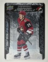 2019-20 Credentials Steel Wheels #SW-14 Barrett Hayton RC - Arizona Coyotes