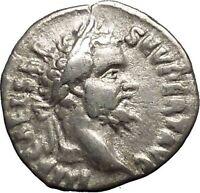SEPTIMIUS SEVERUS 193AD  Ancient Silver Roman Coin Liberality Wealth i52921