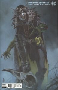 DARK NIGHTS DEATH METAL #3 CVR C RICCARDO FEDERICI VARIANT NM ROBIN KING