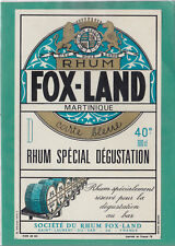 R619 RHUM FOX-LAND MARTINIQUE SAINT LAURENT DU VAR ALPES MARITIME LIONS