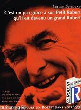 Publicité Advertising 1996 Dictionnaire Le Petit Robert avec Robert Doisneau