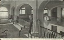 Hartford CT Hotel Bond Interior c1910 Postcard