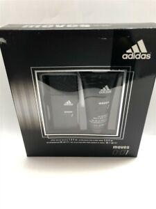 Adidas Moves 0:01 2pc Set 1.0 oz Eau de Toilette Spray for Men, Discontinued!