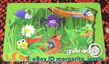 """GREEN EARTH CANADA GIFT CARD """"CUTE BUGS"""" LADYBUG BEE SPIDER NO VALUE NEW 2018"""