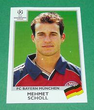 N°232 SCHOLL FC BAYERN MÜNCHEN PANINI FOOTBALL CHAMPIONS LEAGUE 1999-2000