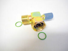 MALE O RING TO FEMALE O RING #10 90 DEGREE A/C COMPRESSOR FITTING  W/13mm PORT